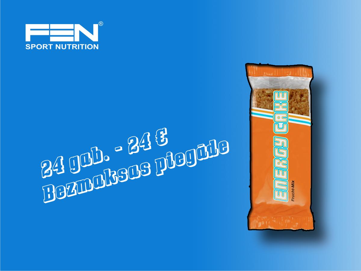 Energy Cake 125 g x 24 vnt